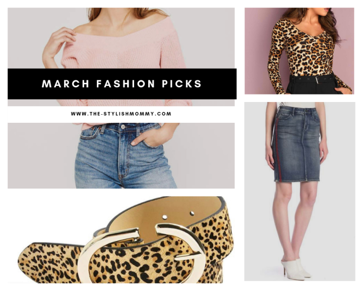 March Clothing Picks