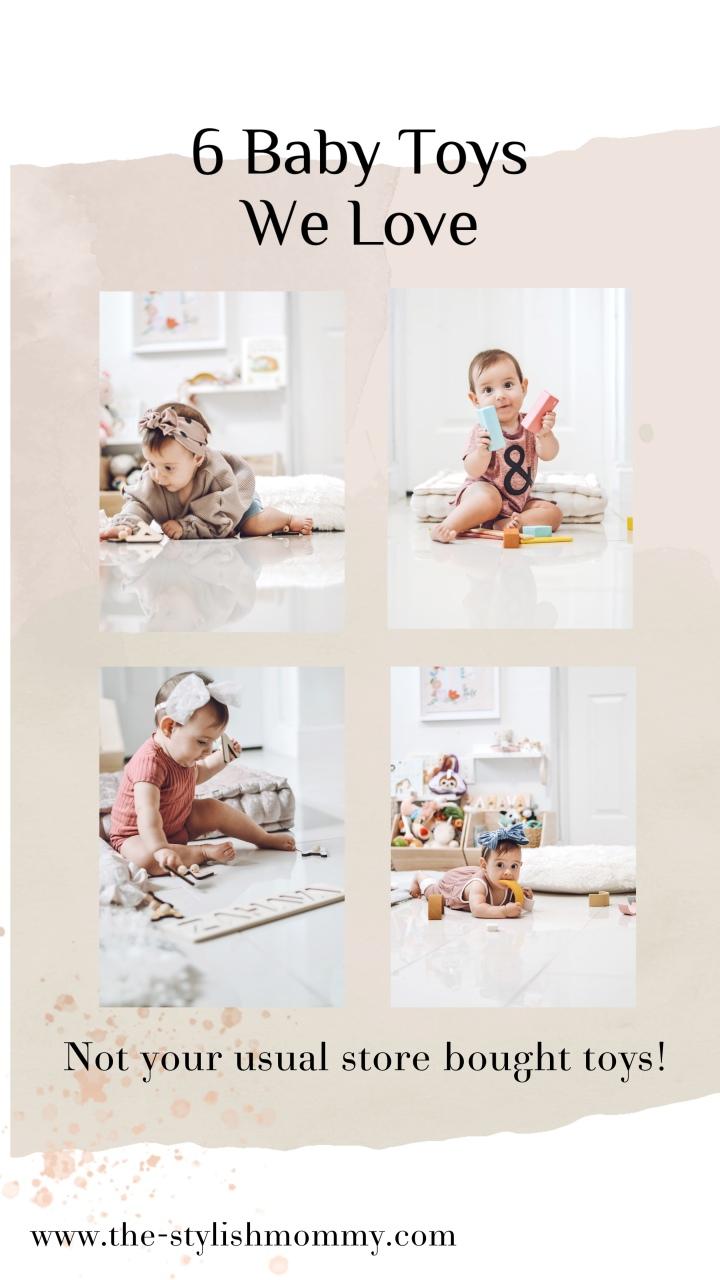 6 Baby Toys WeLove