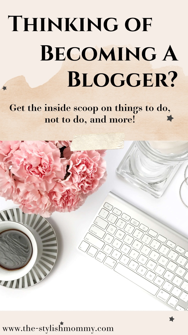 Tips For Becoming a Blogger / Influencer