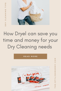 Dryel saves you time and money