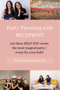 Party planning with blueprint